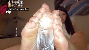 T167cm足指舐められ好き美脚痴女 足裏くすぐりナマ踏みコキ/橘メアリー